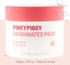 [April Skin] Nature Cosmetic Pinky Piggy Carbonated Pack - 100g NEW
