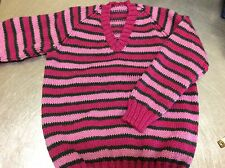 hand knitted Jumper size 7