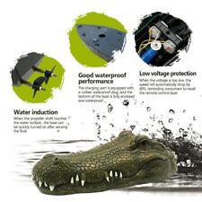 Racing Boat Crocodile Head RC Spoof Toy Flytec V002 2.4G Remote Control Ele Q1G5