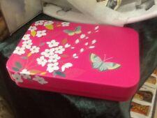 Sarah Miller small decorative Tin, Butterflies