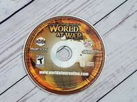 Gary Grigsby's World At War (PC, 2006) Game Disc Only PCCD Rom