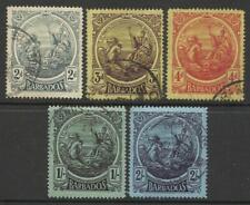 BARBADOS KGV 1916-19 USED (B)