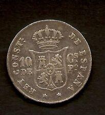 Alfonso XII 10 Centavos  1883  Manila        NL191