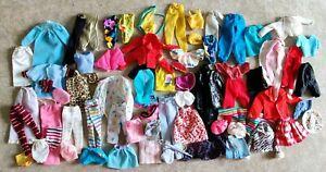 Vintage Mattel Barbie 80s 90s Lot Clothes Dress Pants Swimsuit Jumpsuit Shorts