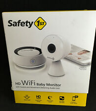 Safety 1st HD WiFi Streaming Baby Monitor Camera With Audio Movement Detection 1