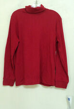 NEW misses size large Concepts Sportswear TURTLENECK red knit L