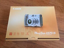 BRAND NEW Canon PowerShot A570 IS 7MP Digital Camera w 4x Optical Zoom