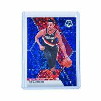 CJ McCollum Portland Trail Blazers 2019-20 Panini Mosaic NBA Blue /85 Card
