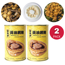Australia Wild Abalone Canned Seafood in Clear Broth Ready to Eat 10 pieces