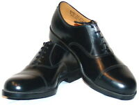 BRITISH ARMY ISSUE PARADE SHOES - SHOES - USED -VARIOUS SIZES -  CADET SHOES