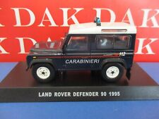 Die cast 1/43 Modellino Auto Carabinieri Land Rover Defender 90 1995