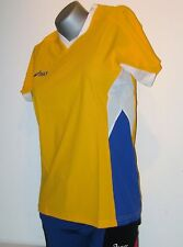 ASICS Chemise pour femmes taille XL (48/50) JAUNE NEUF ATTAQUANT MARCHE SPORT