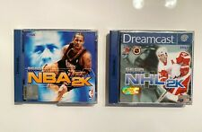 SEGA Dreamcast Spiele Bundle: NHL 2K & NBA 2K