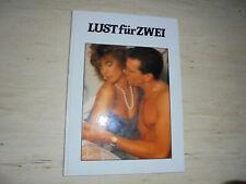 """Buch """"Lust für zwei - Liebeskunst von heute"""" ORION Verlag Grossformat Erotik"""