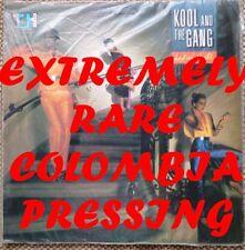 Kool y la pandilla-Ladies Night, 33 Rpm Lp de vinilo disco Colombia Importado Raro