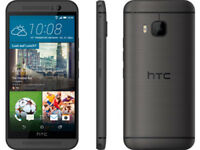"5"" HTC One M9 32GB 3GB RAM GPS NFC 20MP 4G LTE Débloqué Téléphone Gris Gray"