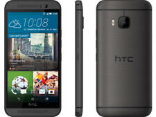 """5"""" Unlocked HTC One M9 32GB AT&T Smartphone 20MP 4G LTE Mobile PHONE Gray"""