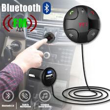 Wireless Bluetooth 4.2 Handsfree Car FM Transmitter Radio MP3 Player Kit USB 12V