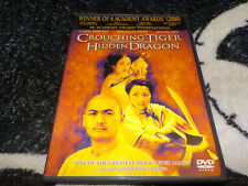 Crouching Tiger Hidden Dragon Dvd +Insert Chow Yun Fat Free Shipping