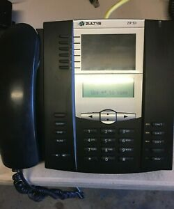 Zultys Zip 53i Business Phone W/ Handset and Stand. PoE, VOIP.