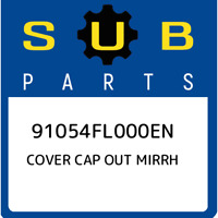 91054FL000EN Subaru Cover cap out mirrh 91054FL000EN, New Genuine OEM Part
