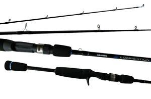 6'6 Okuma Competition 6-15lb 2 Piece Baitcaster Rod with Split Butt