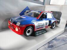 RENAULT 5 Turbo Rallye #16 Saby Philips Autoradio 1984 Tour de Corse Solido 1:18