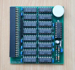 A502 / 16 - 512kb Speichererweiterung/Expansion für AMIGA 500 & A500+  #02