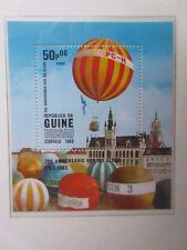 Guine Bissau 1983 200 Years of Flight Set & Mini Sheet. MNH