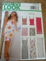 6178 NEW LOOK SIMPLICITY 5 CREATIONS JUPE  ROBE CARACO PRINTEMPS ETE T 36 AU 46