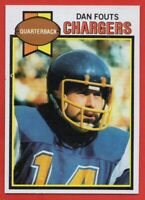 1979 Topps #387 Dan Fouts PACK FRESH NEAR MINT San Diego Chargers FREE SHIPPING
