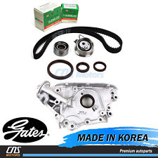 "Gates ""HTD"" Timing Belt Kit Oil Pump for 05-10 Elantra Tiburon Tucson Soul 2.0L"