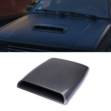 Carbon Fiber Look Car Decorative Air Intake Flow Hood Bonnet Scoop Vent Cover