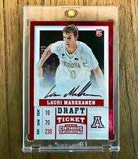 2017-18 Panini Contenders Lauri Markkanen RC Auto 💎Mint Quality # /25