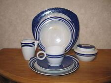 THOMAS *NEW* VARIO BLUE CIRCLE Set 3 assiettes + 1 tasse et soucoupe