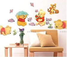 Winnie the Pooh Nursery Room Wall Decal Decor Stickers  For Kids Baby