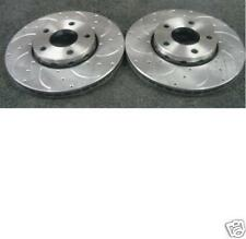 AUDI S4 4.2 QUATTRO B6 CROSS  DRILLED GROOVED BRAKE DISC FRONT 345MM