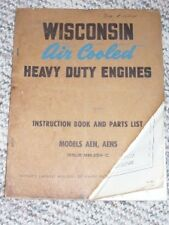 wisconsin industrial stationary engine manuals \u0026 books for sale ebay Jaguar Parts Diagram