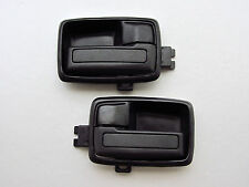 80 - 89 - 01 ISUZU TF TFR KB KBZ HOLDEN RODEO PAIR INNER DOOR HANDLE BLACK BRAVA