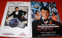 JAMES BOND TOMORROW NEVER DIES ULTRA RARE UK PREMIERE