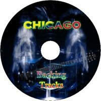 CHICAGO ROCK GUITAR BACKING TRACKS CD BEST GREATEST HITS MUSIC PLAY ALONG MP3
