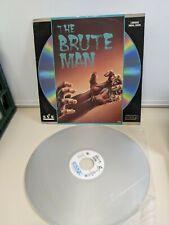 The Brute Man - 1946 - Laserdisc - Rare -