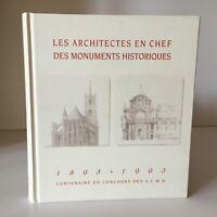 I Architetti IN Chef Delle Monumenti Storici 1893-1993 Centenario A. C. M.H