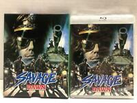 NEW SAVAGE DAWN BLU RAY 2 DISC SET + LIMITED EDITION SLIPCOVER VINEGAR SYNDROME