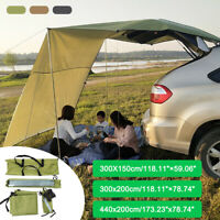 Waterproof Car Side Awning Rooftop Tent Side Tent Sunshade For Outdoor