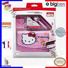 BigBen Kit Pack Essentiel Hello Kitty Rose pour Nintendo 3DS XL DSi XL