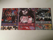 DIA de los MUERTOS lot of 3 issues #1-3  Image Comics 2013 VF Riley Rossmo