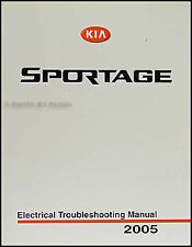 Car truck service repair manuals for kia ebay 2005 kia sportage electrical troubleshooting manual wiring diagram book lx ex asfbconference2016 Image collections