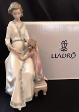 """Rare Lladro """"Anticipation"""" Great Expectation (5650 Mint in Box) Mother/Child"""