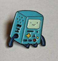 "Adventure Time ""BMO"" Hat Bag Lapel Pin Enamel Collectable Cartoon Badge"